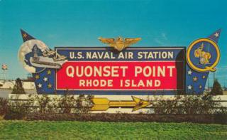 U.S. Naval Air Station Sign