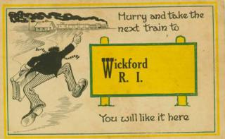 Hurry and Take the Next Train to Wickford Image