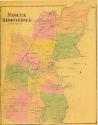 North Kingstown Map