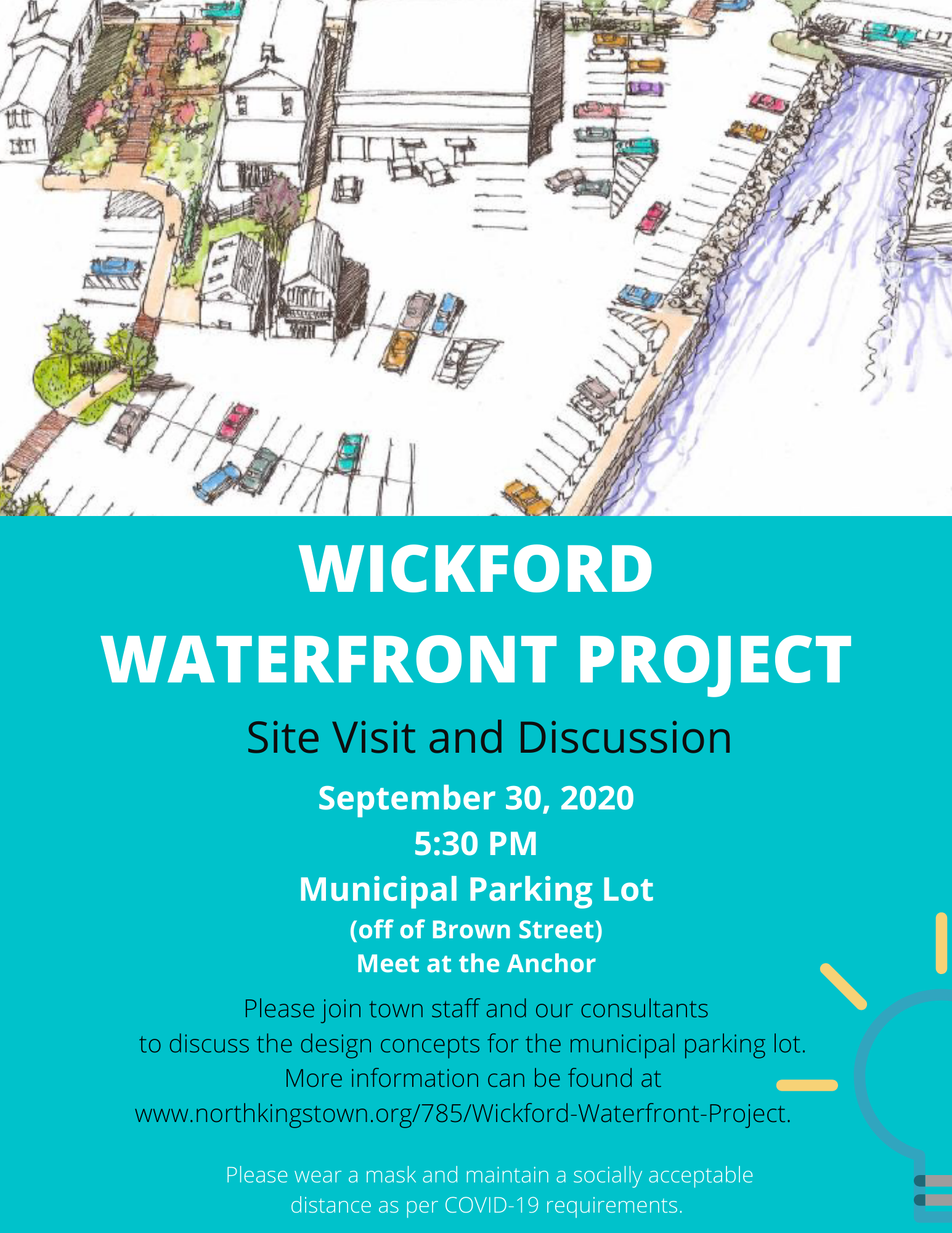 WICKFORD WATERFRONT PROJECT-site visit flyer