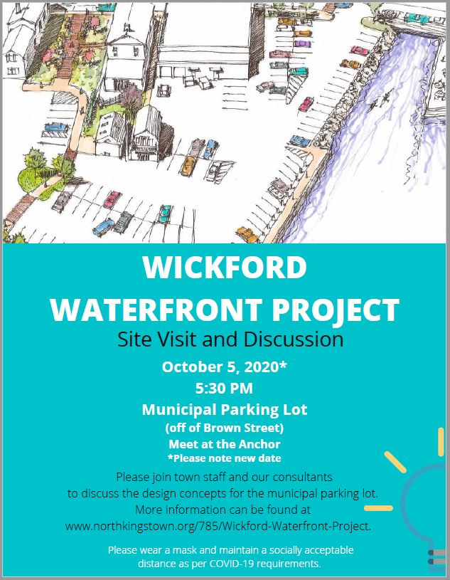 WICKFORD WATERFRONT PROJECT-site visit flyer-new date
